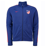 2018-2019 Atletico Madrid Nike Core Trainer Jacket (Azul)