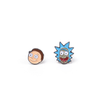 Gemelos de metal Rick and Morty - Rick & Morty Cufflinks