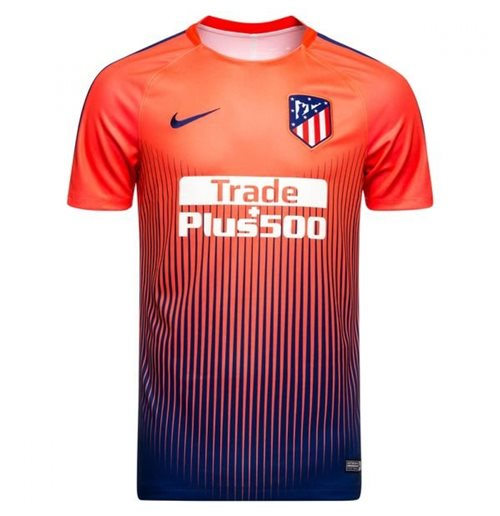 92c711a69 2018-2019 Atletico Madrid Nike camisa de entrenamiento seco antes del  partido (rojo)