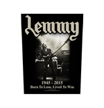 Parche Lemmy - Design: Lived to Win