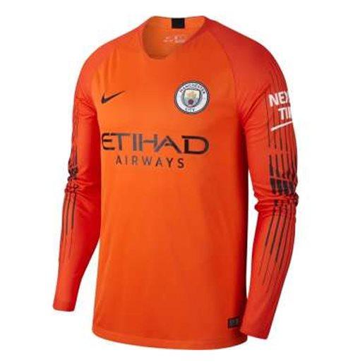 f7b4991d565fd Compra Camiseta 2018 2019 Manchester City FC 2018-2019 Home (Naranja)