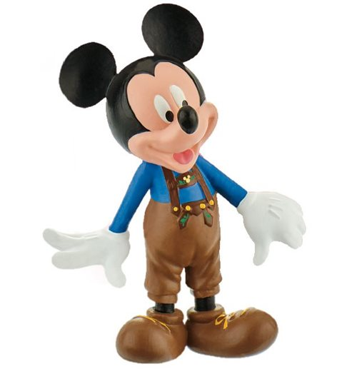 Disney Mickey Mouse & Friends Minifigura Mickey leather pants 7 cm