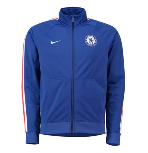 2018-2019 Chelsea Nike Core Trainer Jacket (azul)