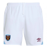 Shorts West Ham United 2018-2019 Home (Blanco)