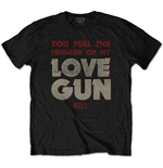 Camiseta Kiss de hombre - Design: Pull The Trigger
