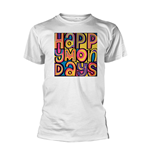Camiseta Happy Mondays en blanco