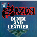 Vinilo Saxon - Denim And Leather
