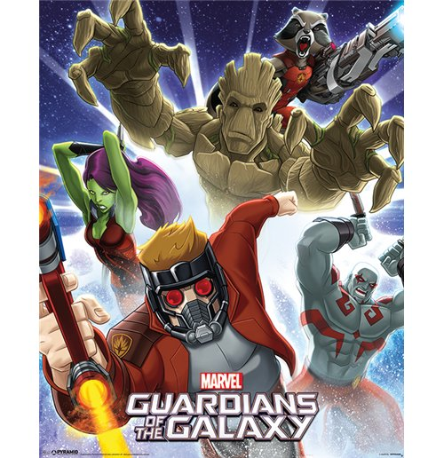 Póster Guardians of the Galaxy 311468