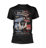 Camiseta Plan 9 - Earth VS. The Flying Saucers EARTH VS. THE FLYING SAUCERS - POSTER