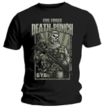 Camiseta Five Finger Death Punch de hombre - Design: War Soldier