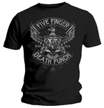 Camiseta Five Finger Death Punch de hombre - Design: Howe Eagle Crest