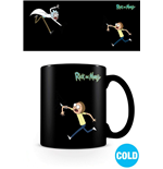 Rick y Morty Taza sensitiva al calor Portals