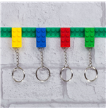 Pack de 4 Llaveros Key Bricks
