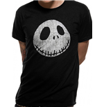 Camiseta Nightmare Before Christmas - Design: Jack Cracked Face