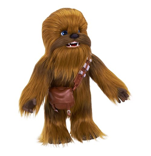 Star Wars Solo Peluche interactivo FurReal Chewie, el copiloto perfecto