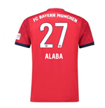 Camiseta 2018/2019 Bayern de Munich 2018-2019 Home