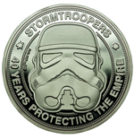 Original Stormtrooper Moneda 40 Years Protecting The Empire