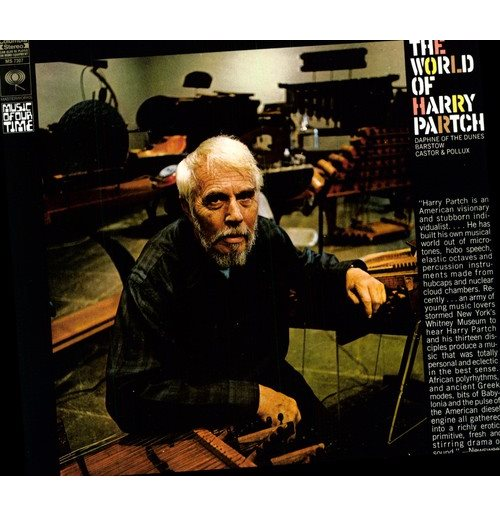 Vinilo Harry Partch - World Of Harry Partch