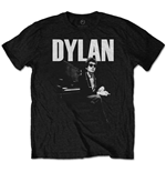Camiseta Bob Dylan de hombre - Design: At Piano
