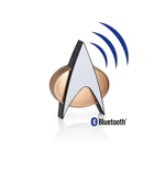 Star Trek TNG Communicator Bluetooth Badge 5 cm