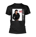 Camiseta Michael Jackson BAD BLACK