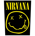 Parche Nirvana - Design: Smiley