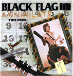 Vinilo Black Flag - Annihilate This Week