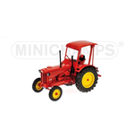 TRATTORE AGRICOLO HANOMAG R35 FARM TRACTOR WITH ROOF 1955 RED