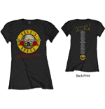 Camiseta Guns N' Roses de mujer - Design: Not In This Lifetime Tour