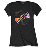 Camiseta Pink Floyd de mujer - Design: Machine Greeting Orange
