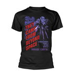Camiseta Plan 9 - They Came From Beyond Space