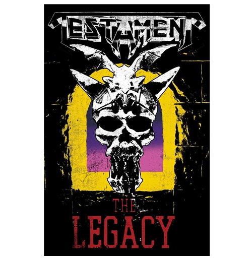 Póster Testament - Design: The Legacy