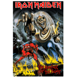 Póster Iron Maiden - Design: Number Of The Beast