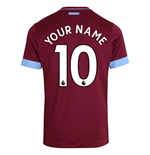 Camiseta 2018/2019 West Ham United 2018-2019 Home personalizable