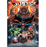 DC Comics Libro Justice League The Darkseid War Part 2 by Geoff Johns inglés