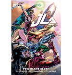 DC Comics Libro Justice League Power & Glory by Brian Hitch inglés