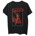 Camiseta Michael Jackson  de hombre - Design: Thriller White Red Suit