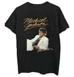 Camiseta Michael Jackson  de hombre - Design: Thriller White Suit