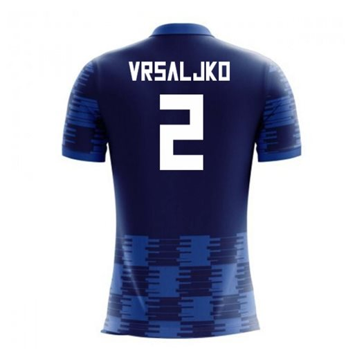 Camiseta Croacia Fútbol 2018-2019 Away