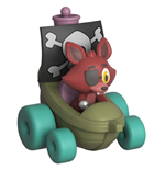 Five Nights at Freddy's Super Racers Diecast Figura Foxy the Pirate 5 cm