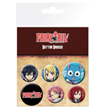 Chapita Fairy Tail - Characters (Badge Pack)
