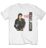 Camiseta Michael Jackson  de hombre - Design: Bad