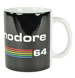 Commodore 64 Taza Black Logo