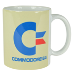 Commodore 64 Taza White Logo