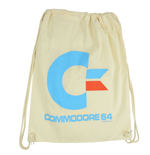 Commodore 64 Bolso de tela White Logo