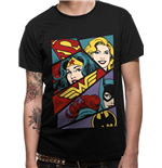 Camiseta Justice League - Design: Heroine Pop Art