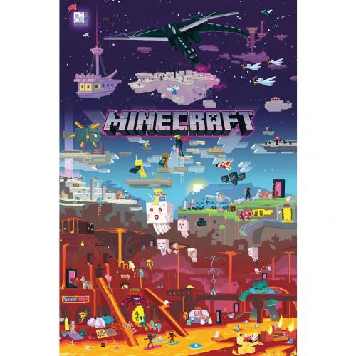 Póster Minecraft World Beyond 179