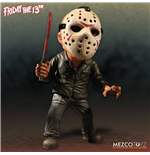 Viernes 13 mecánica Figura Deluxe Stylized Roto Jason 15 cm