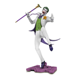 DC Core Estatua The Joker White Variant heo EU Exclusive 28 cm