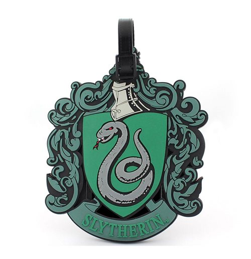 Harry Potter Etiqueta del equipaje caucho Slytherin New Ver.